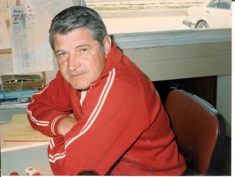 Photo of Darrell in 1984